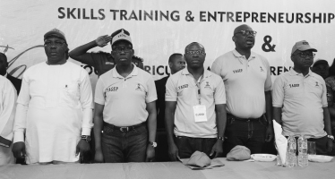 Okowa Challenges Students on Skills Acquisition