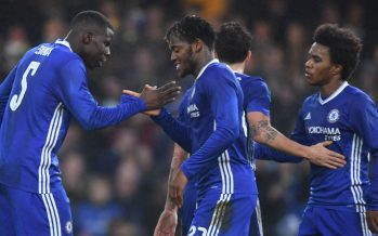 FA Cup: Terry Sent Off As Chelsea Thrash Peterborough, Boro Win