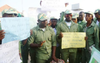 Corpers to embark on two weeks warning strike over new allowance