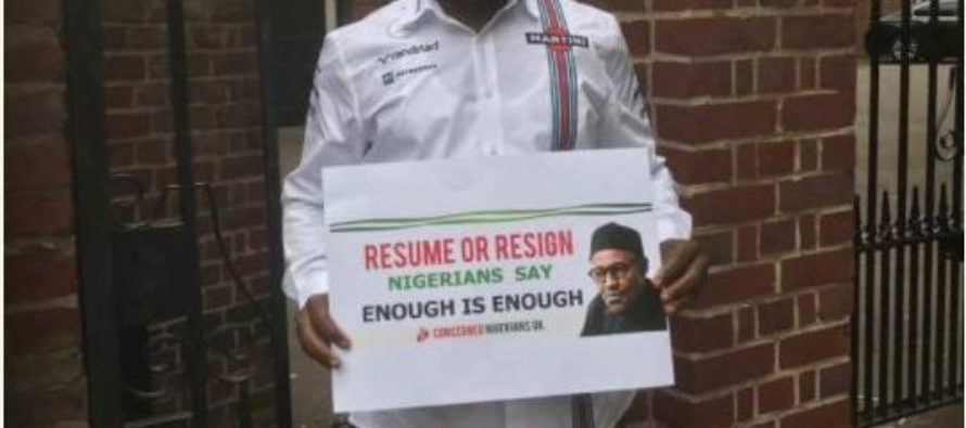 Resume or Resign: Nigerians to hold night vigil protest in London