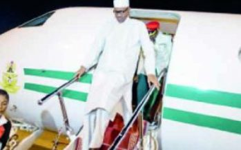 Buhari back today, to address Nigerians on Monday