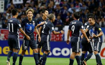 Japan beats Australia 2-0 to qualify for 2018 World Cup