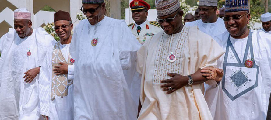 2019: Buhari meets Northern governors in Aso Villa