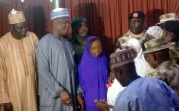 Army hands over rescued Chibok girl to Borno govt