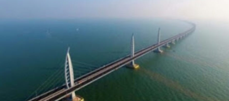 After 8 years, China completes world's longest sea bridge