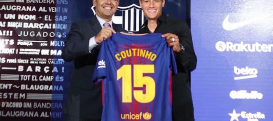 Barcelona sign £142m Coutinho from Liverpool