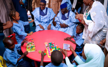 Buhari commissions special school for physically challenged persons
