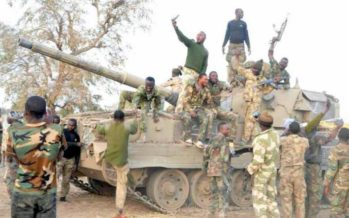 Nigerian Army recover battle tanks, other from Boko Haram