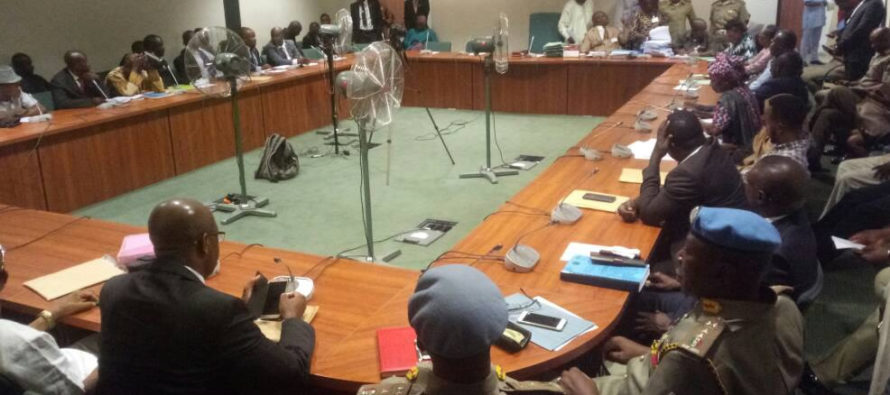 Reps Tackle Police Over Invasion Of Peace Corps Office