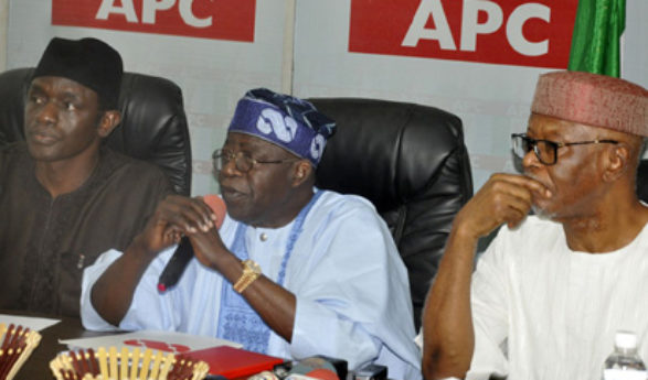 Odigie-Oyegun, Buhari In Closed Door Meeting Over Tinubu's Letter