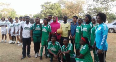 Aljazirah Amazons feature in 'Kick Out Cancer' novelty match
