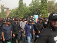 PDP Protests Against Sacking of Ihedioha By Supreme Court