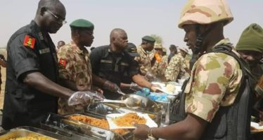 How Buratai Marked Easter With Troops At Frontline