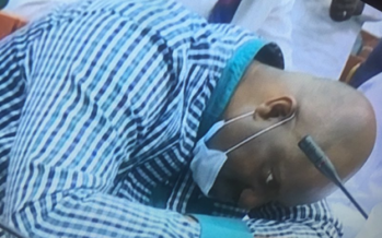 Nigerians, PDP React To Pondei's Fainting During Reps Probe
