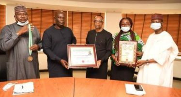 NCC Boss, Danbatta Receives Award From NASAL , Pledges To Do More