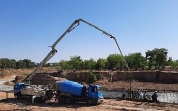 Erosion Control Works Ongoing At Gombe Varsity