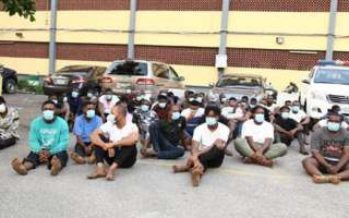 71 Suspects Arrested For Allegedly violating Covid-19 Protocols