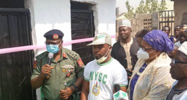 Corps Member Leads War Against Open Defecation, Donates Toilets