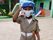 Drama In Abuja As 3yr Old Boy Appears On Peace Corps Uniform