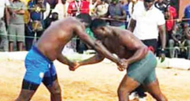 When Traders Abandon Wares For Traditional Wrestling